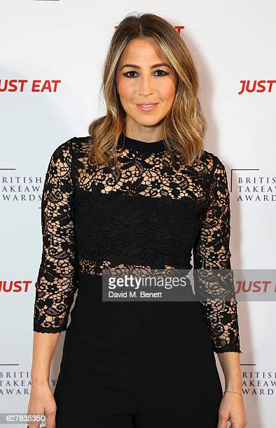 Rachel Stevens attends the annual British Takeaway Awards in association with Just Eat at the Savoy Hotel in London The Annual awards are held to...