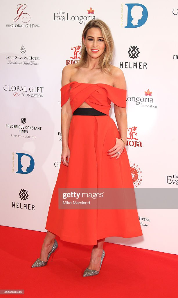 Rachel Stevens attends the Global Gift Gala at Four Seasons Hotel on November 30, 2015 in London, England.
