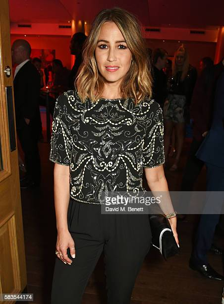 Rachel Stevens attends the press night after party for 'Breakfast at Tiffany's' at the The Haymarket Hotel on July 26 2016 in London England