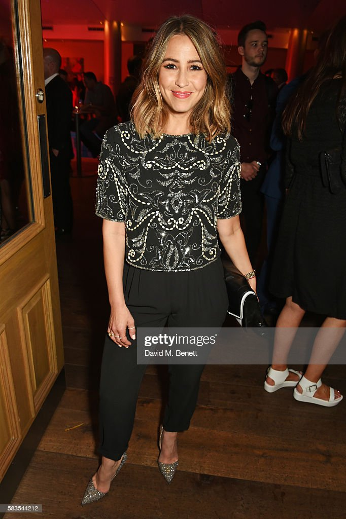 Rachel Stevens attends the press night after party for 'Breakfast at Tiffany's' at the The Haymarket Hotel on July 26, 2016 in London, England.