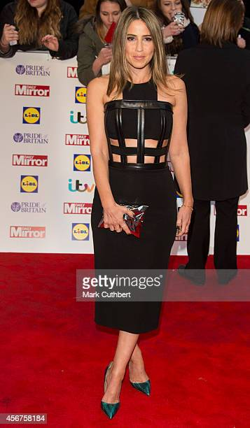 Rachel Stevens attends the Pride of Britain awards at The Grosvenor House Hotel on October 6 2014 in London England