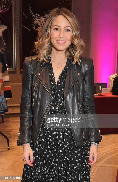 Rachel Stevens attends the Rainbow Trust Children's Charity's annual 'Trust In Fashion' fundraiser at The Grosvenor House Hotel on March 18 2019 in...