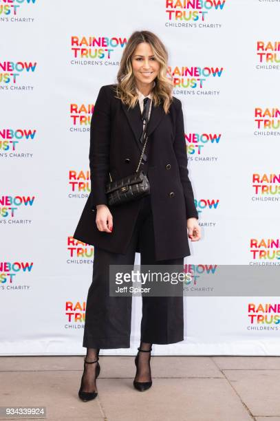 Rachel Stevens attends the 'Trust In Fashion' London event at The Savoy Hotel on March 19 2018 in London England