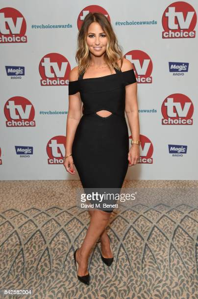 Rachel Stevens attends the TV Choice Awards at The Dorchester on September 4 2017 in London England