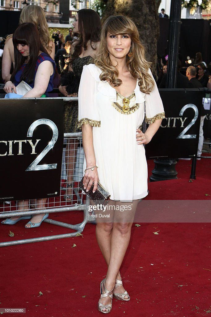 Rachel Stevens attends the UK premiere of 'Sex and the City 2' at Odeon Leicester Square on May 27, 2010 in London, England.