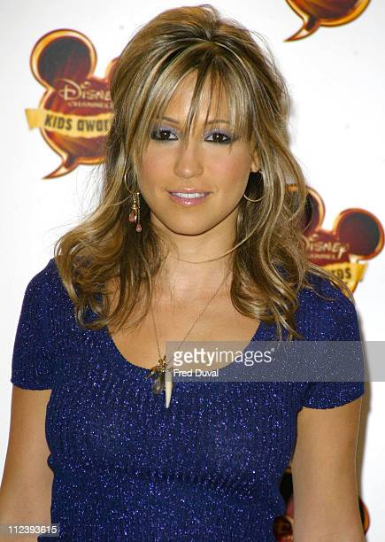 Rachel Stevens during 2004 Disney Channel Kids Awards Press Room at Royal Albert Hall in London in London Great Britain