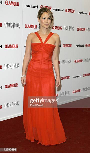 Rachel Stevens during 2005 Glamour Women of the Year Awards Arrivals at Berkley Square in London Great Britain