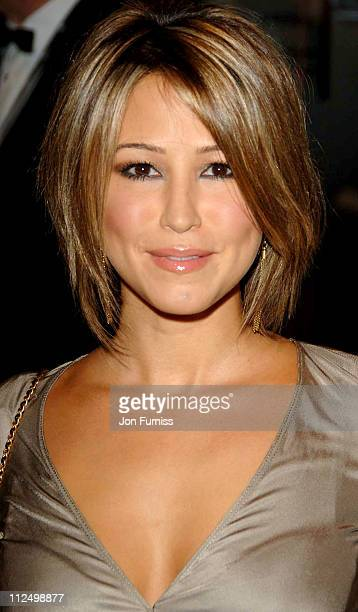Rachel Stevens during 'Casino Royale' World Premiere Inside Arrivals at Odeon Leicester Square in London Great Britain