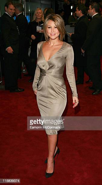 Rachel Stevens during 'Casino Royale' World Premiere Outside Arrivals at Odeon Leicester Square in London Great Britain