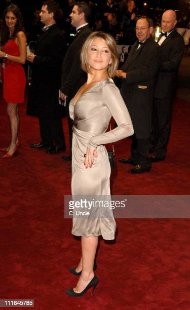 """Rachel Stevens during """"Casino Royale"""" World Premiere - Red Carpet at Odeon Leicester Square in London, Great Britain."""