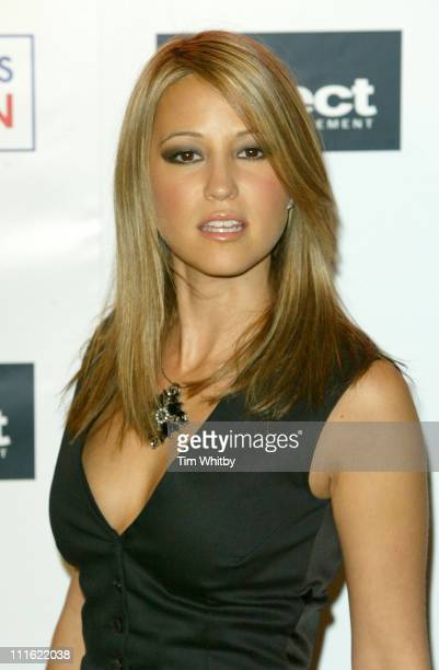 Rachel Stevens during Dress to Impress Oxford Street Celebration October 1 2005 at Selfridges Oxford Street in London Great Britain