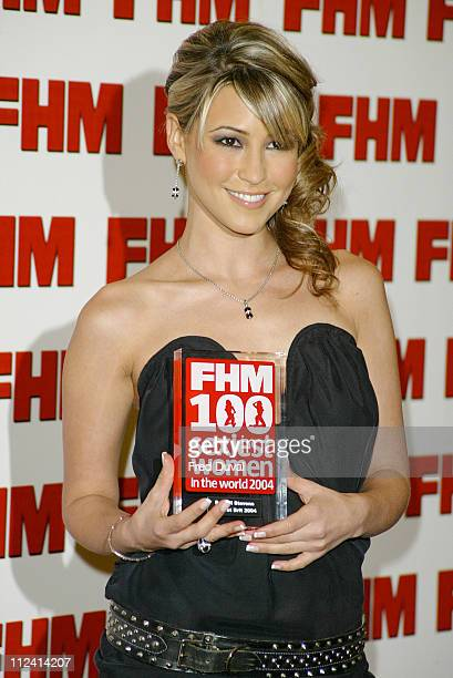 Rachel Stevens during FHM Top 100 Sexiest Women 2004 at Guild Hall in London Great Britain