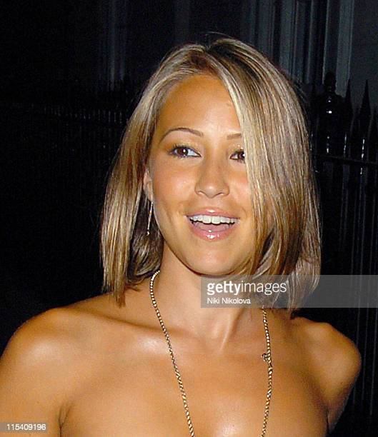 Rachel Stevens during Rachel Stevens Sighting at Cipriani's July 25 2006 in London Great Britain