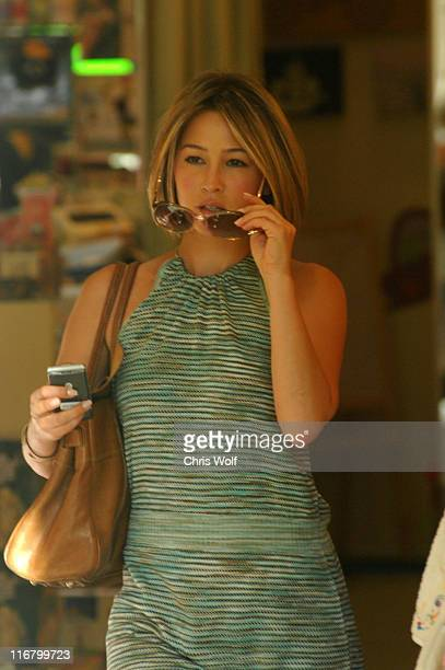 Rachel Stevens during Rachel Stevens Sighting on Robertson Boulevard in West Hollywood, California - March 5, 2007 at The Newsroom Cafe and Kitson...