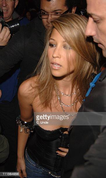 Rachel Stevens during Rachel Stevens Signing at GAY in London October 19 2005 at GAY Old Compton Street in London Great Britain