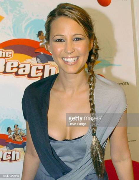 Rachel Stevens during T4 On The Beach Backstage in WestonSuperMare Great Britain