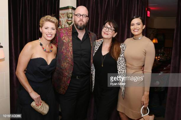 Rachel Sullivan Chris Sullivan Hala Bahmet and Mandy Moore attend Harper's BAZAAR and the CDG celebrate Excellence in Television Costume Design with...