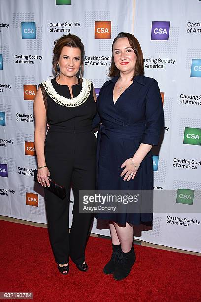 Rachel Sutton and Jaime Sparere Roberts arrive at the 2017 Annual Artios Awards at The Beverly Hilton Hotel on January 19 2017 in Beverly Hills...