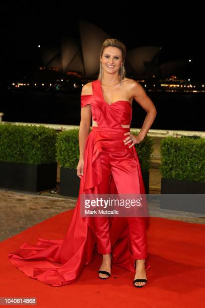 Rachel Thaiday arrives at the 2018 Dally M Awards at Overseas Passenger Terminal on September 26 2018 in Sydney Australia