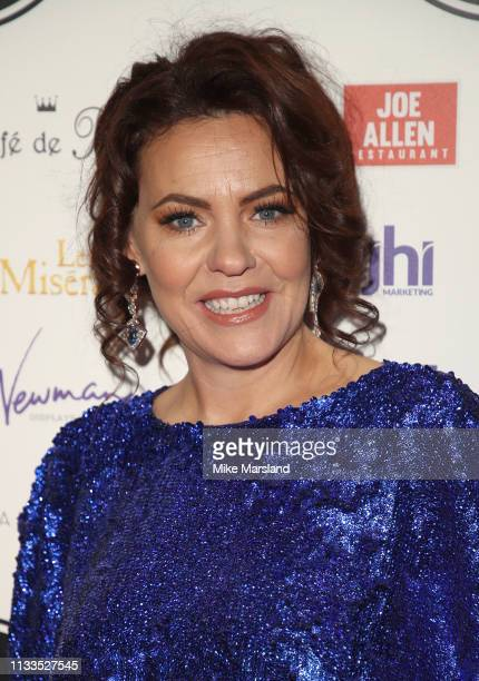 Rachel Tucker attends the WhatsOnStage Awards at Prince Of Wales Theatre on March 03 2019 in London England