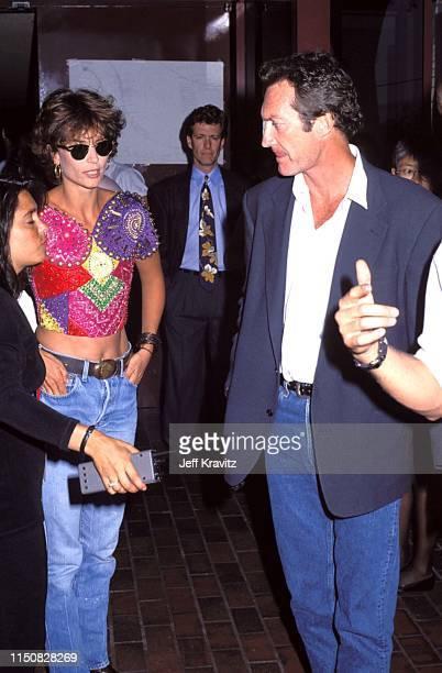 Rachel Ward and Bryan Brown at the 1990 MTV Video Music Awards at in Los Angeles California