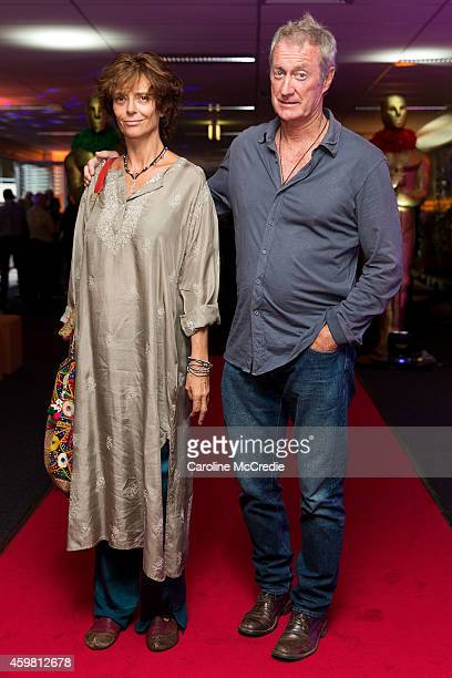 Rachel Ward and Bryan Brown attend the At The Movies farewell party for Margaret Pomeranz and David Stratton on December 2 2014 in Sydney Australia