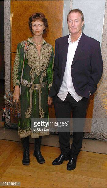 Rachel Ward and Bryan Brown during Australian Film Festival Opening Gala at Barbican Centre in London Great Britain