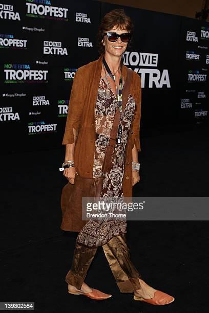 Rachel Ward arrives at the Tropfest 2012 short film festival at The Royal Botanic Gardens on February 19 2012 in Sydney Australia