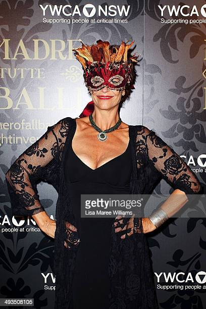 Rachel Ward attends the YMCA Mother of All Balls at Town Hall on May 24 2014 in Sydney Australia