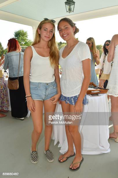 Rachel Weir and Bella Cuomo attend Anne Hearst McInerney and Jay McInerney's celebration of Amanda Hearst and Hassan Pierre's Maison de Mode at a...