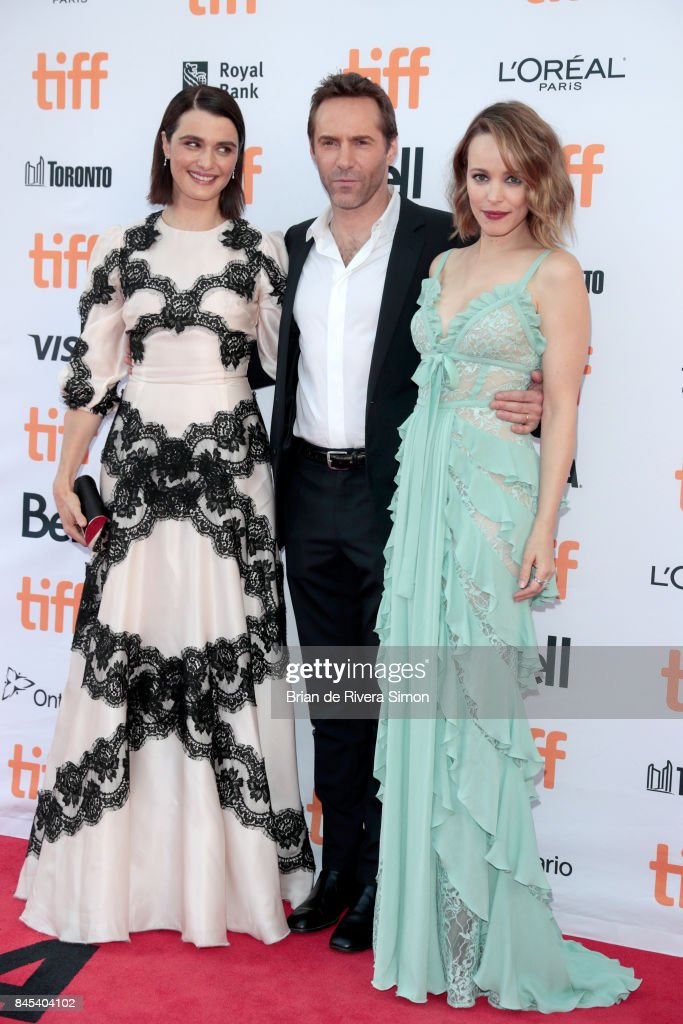 Rachel Weisz, Alessandro Nivola and Rachel McAdams attend the 'Disobedience' premiere during the 2017 Toronto International Film Festival at Princess of Wales Theatre on September 10, 2017 in Toronto, Canada.