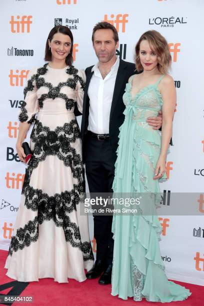 Rachel Weisz Alessandro Nivola and Rachel McAdams attend the 'Disobedience' premiere during the 2017 Toronto International Film Festival at Princess...