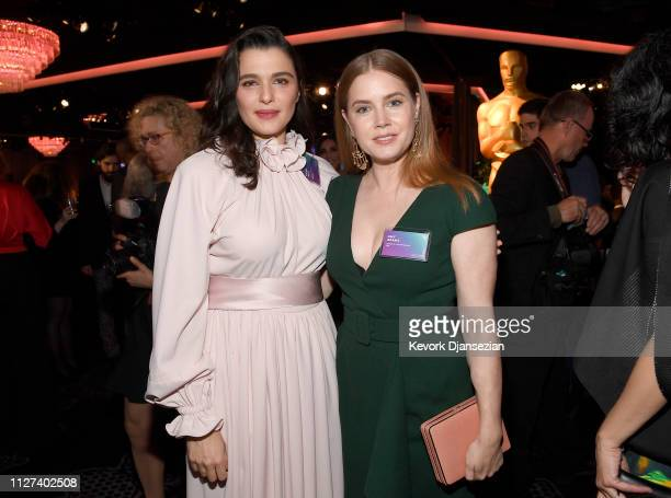 Rachel Weisz and Amy Adams attend the 91st Oscars Nominees Luncheon at The Beverly Hilton Hotel on February 04 2019 in Beverly Hills California