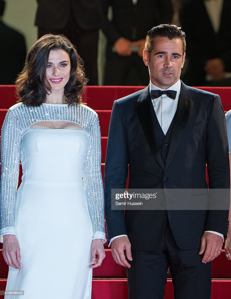 Rachel Weisz and Colin Farrell attend the 'Lobster' Premiere during the 68th annual Cannes Film Festival on May 15, 2015 in Cannes, France.