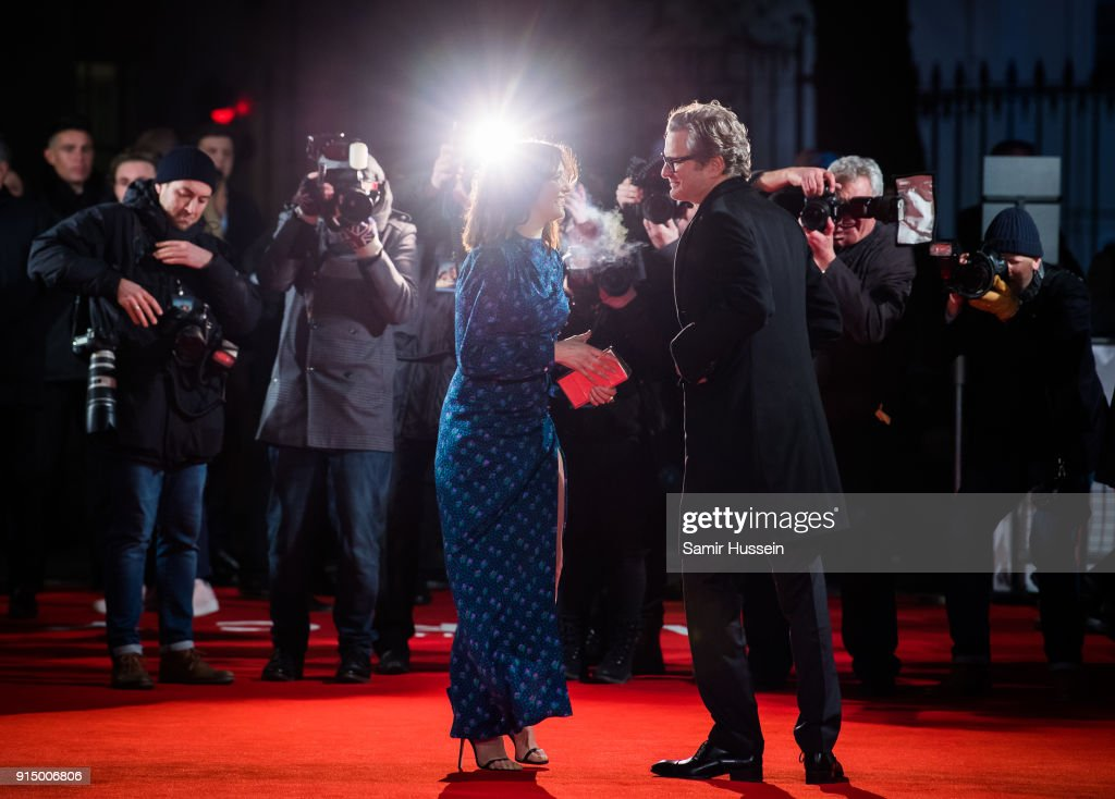 Rachel Weisz and Colin Firth attend 'The Mercy' World Premiere at The Curzon Mayfair on February 6, 2018 in London, England.