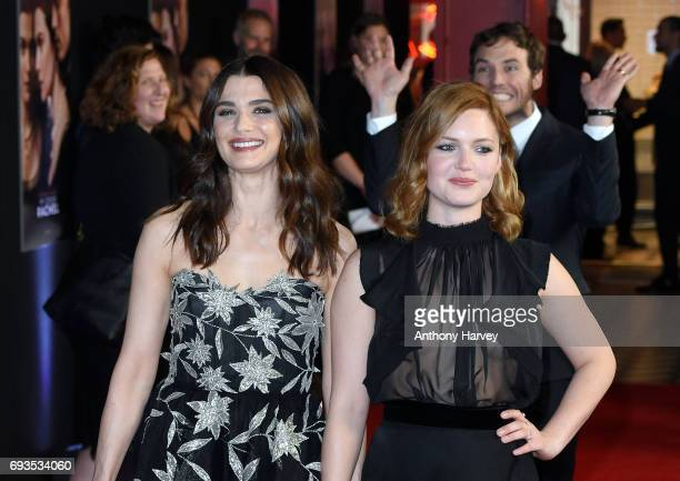 Rachel Weisz and Holliday Grainger attend the World Premiere of My Cousin Rachel at Picturehouse Central on June 7 2017 in London England