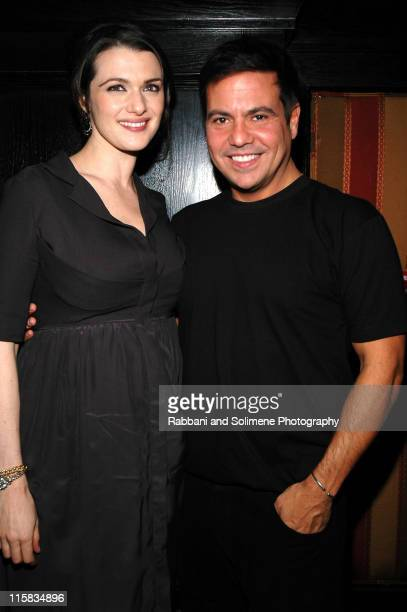 Rachel Weisz and Narciso Rodriguez during Narciso Rodriguez Fall 2006 After Party at Del Posto in New York City New York United States