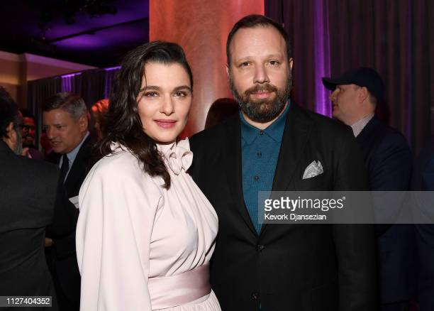 Rachel Weisz and Yorgos Lanthimos attend the 91st Oscars Nominees Luncheon at The Beverly Hilton Hotel on February 04 2019 in Beverly Hills California