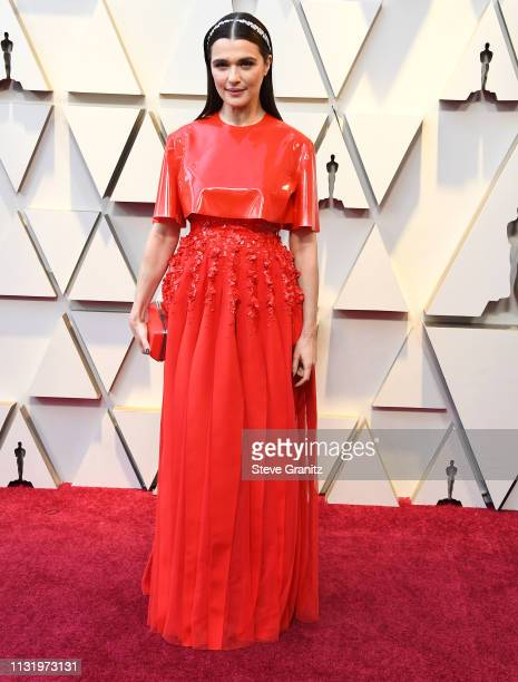 Rachel Weisz arrives at the 91st Annual Academy Awards at Hollywood and Highland on February 24 2019 in Hollywood California