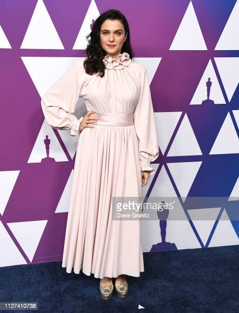 Rachel Weisz arrives at the 91st Oscars Nominees Luncheon at The Beverly Hilton Hotel on February 04 2019 in Beverly Hills California