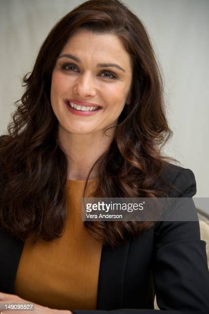 """Rachel Weisz at """"The Bourne Legacy"""" Press Conference at the Four Seasons Hotel on July 20, 2012 in Beverly Hills, California."""