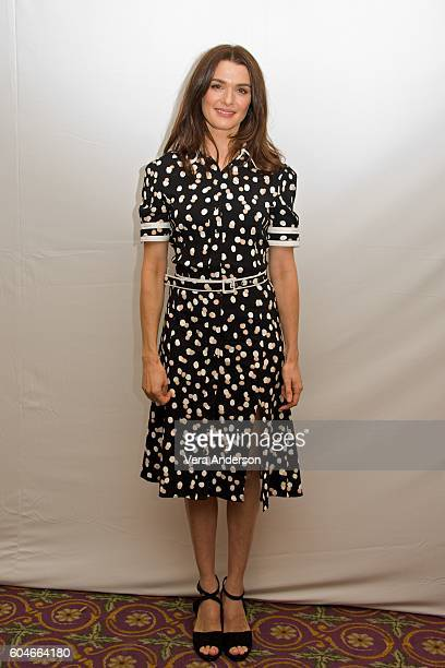 Rachel Weisz at the 'Denial' press conference at the Fairmont Hotel on September 11 2016 in Toronto Canada