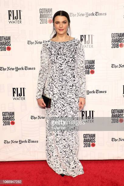 Rachel Weisz attends the 2018 Gotham Awards at Cipriani Wall Street on November 26 2018 in New York City