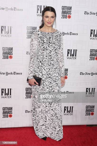 Rachel Weisz attends the 2018 IFP Gotham Awards with FIJI Water at Cipriani Wall Street on November 26 2018 in New York City
