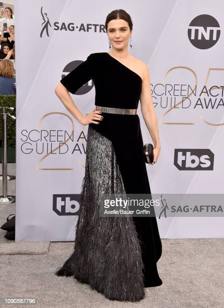 Rachel Weisz attends the 25th Annual Screen Actors Guild Awards at The Shrine Auditorium on January 27 2019 in Los Angeles California