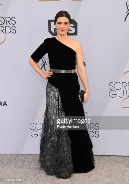 Rachel Weisz attends the 25th Annual Screen ActorsGuild Awards at The Shrine Auditorium on January 27, 2019 in Los Angeles, California.