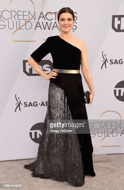 Rachel Weisz attends the 25th Annual Screen ActorsGuild Awards at The Shrine Auditorium on January 27 2019 in Los Angeles California 480645