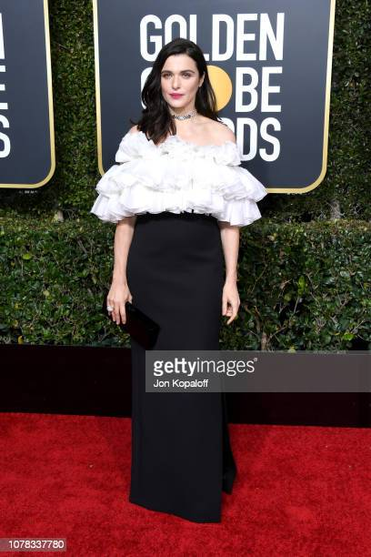 Rachel Weisz attends the 76th Annual Golden Globe Awards at The Beverly Hilton Hotel on January 6 2019 in Beverly Hills California