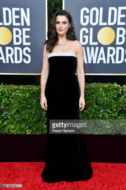Rachel Weisz attends the 77th Annual Golden Globe Awards at The Beverly Hilton Hotel on January 05, 2020 in Beverly Hills, California.