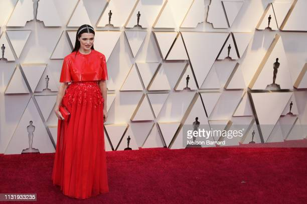 Rachel Weisz attends the 91st Annual Academy Awards Arrivals at Hollywood and Highland on February 24 2019 in Hollywood California